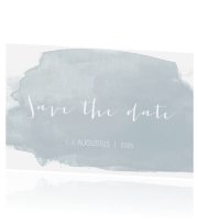 Save the date huisstijl fresh eucalyptus